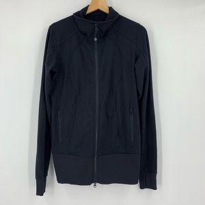 Black Lululemon Zip up jacket size 10